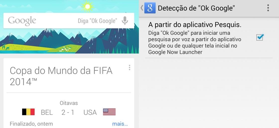 """""""OK Google"""" já está funcionando no Moto G"""