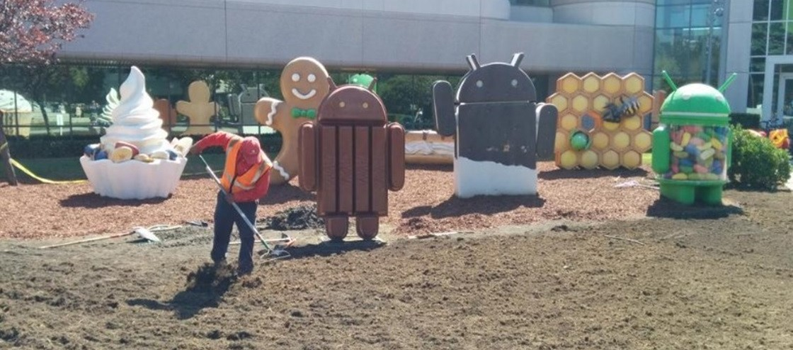 Obras na sede da Google indicam: nome do Android L pode sair em breve