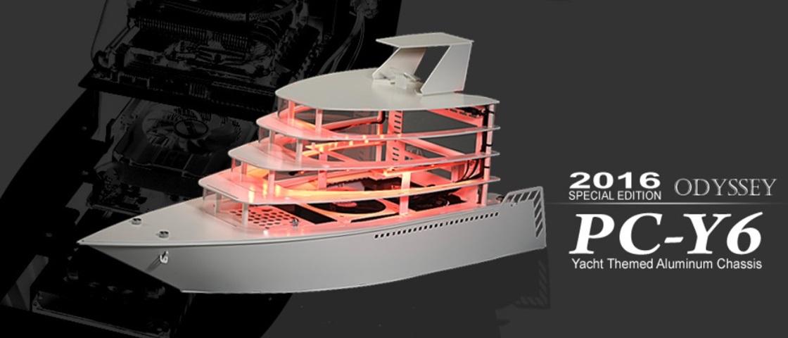 PC ostentação: case de iate de luxo é perfeito para máquinas gamers
