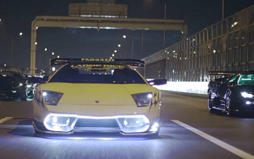 A Yakuza está personalizando Lamborghinis de uma forma insana [vídeo]