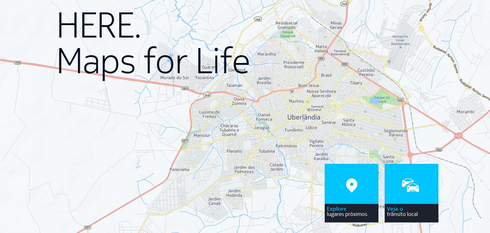 Nokia HERE Maps chega ao Android e iOS até o fim de 2014