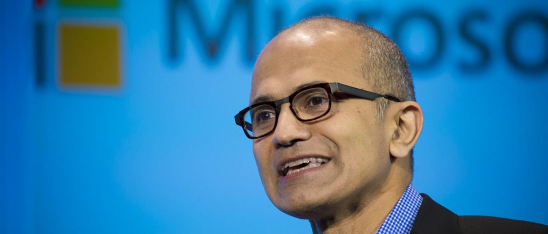 CEO da Microsoft recebe pacote de pagamento no valor de R$ 209 milhões