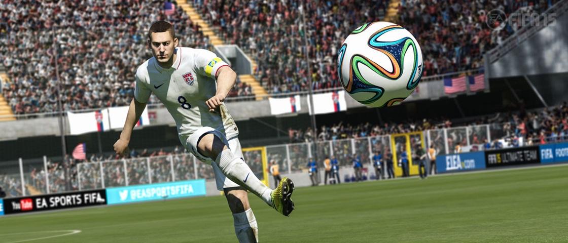 Descontos de carnaval oferece FIFA 15 com desconto de 50%