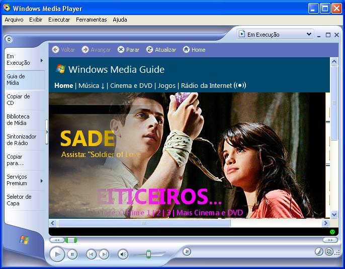 Download movie player window