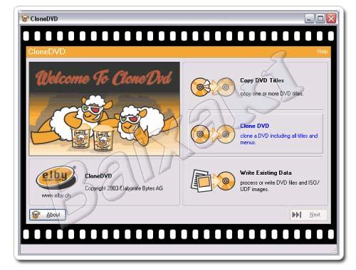 Um ótimo aplicativo para copiar DVDs.