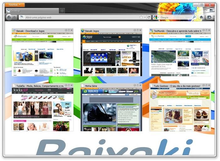 Desktop para Firefox