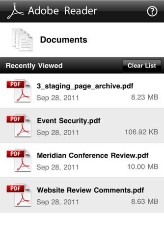 Adobe Reader - Imagem 2 do software