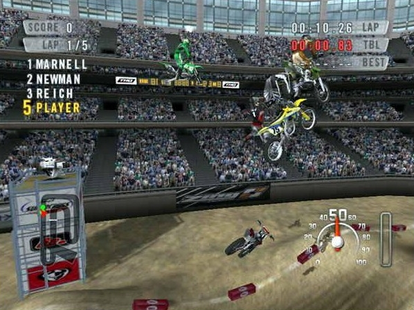 MX vs. ATV Unleashed.