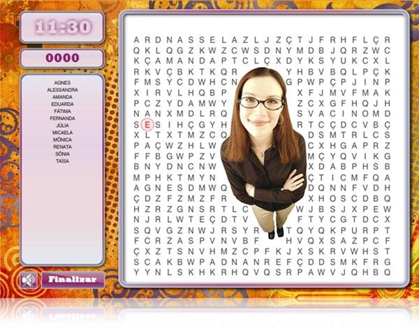 Você consegue encontrar as palavras?