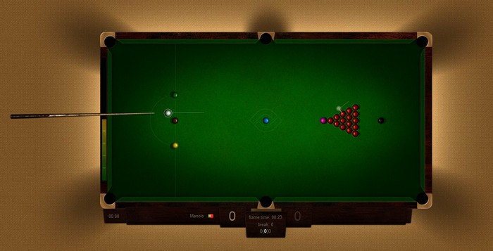 Web Snooker