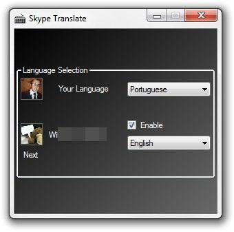 Defina o idioma de cada contato.