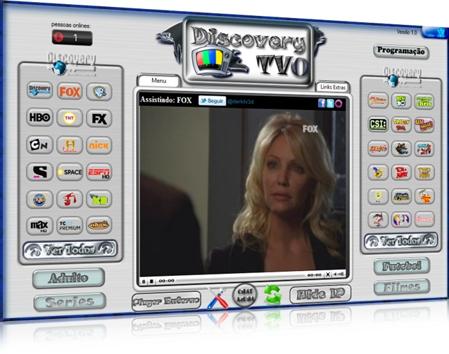 Curta vários canais com o Discovery TVO