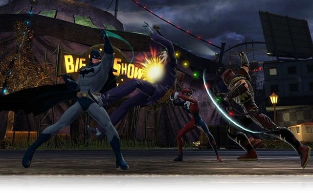 Batman, o mestre das acrobacias.