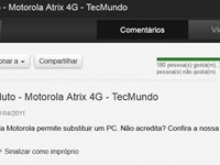 Bot�o inserido na interface do YouTube