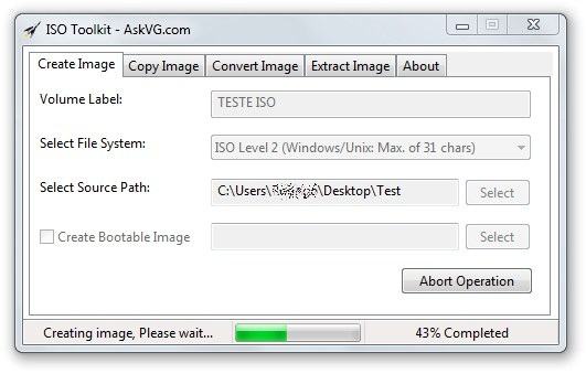 ISO TOOLKIT FOR WINDOWS 7.0