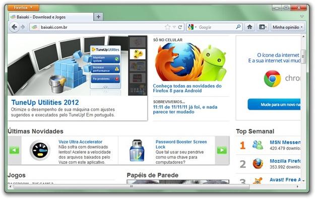 Janela do navegador