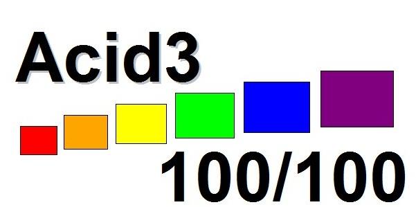 Teste Acid3