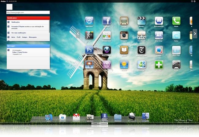 Tenha o iPad na tela do seu PC!