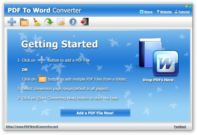 PDF To Word Converter.