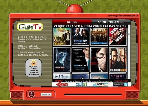 A programação do GuilsTV