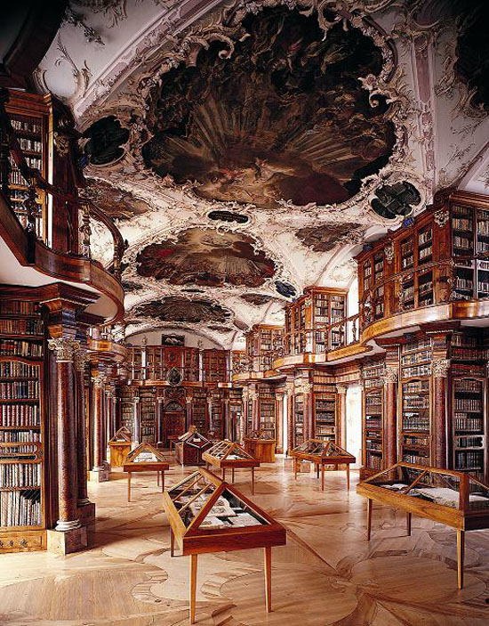 As 10 bibliotecas mais incríveis do mundo