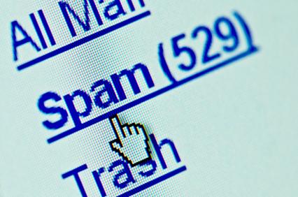 O Spam continua entre os itens principais