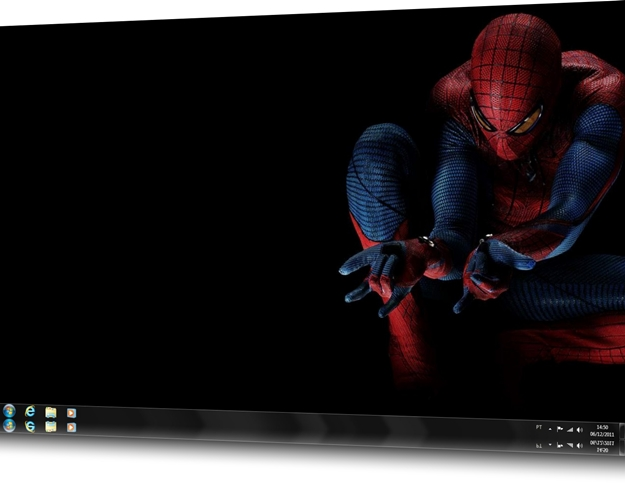 The Amazing Spider-Man Movie Windows 7 Theme.