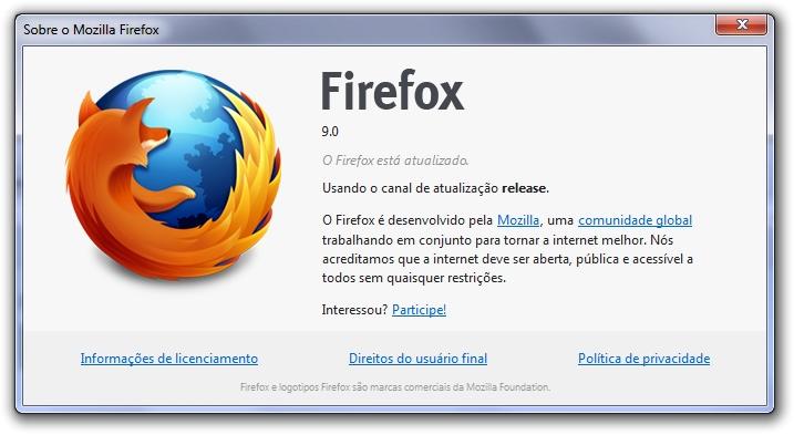 Sobre o Firefox 9.0