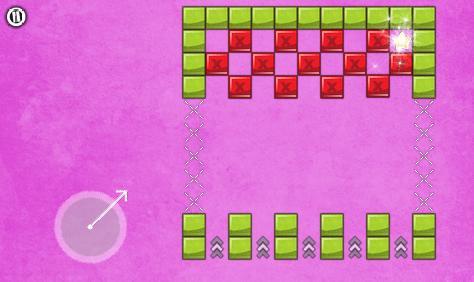 O terceiro mundo do jogo é rosa