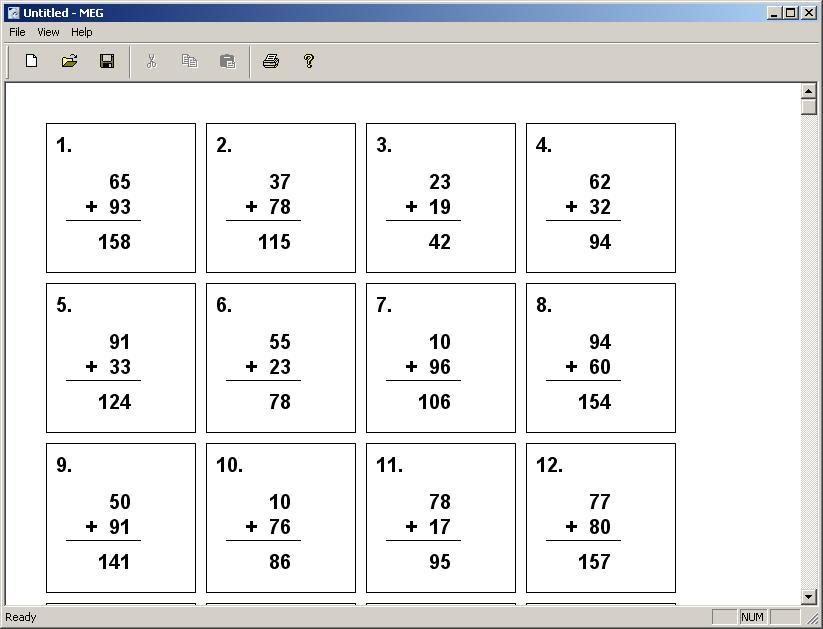 MEG - Imagem 3 do software