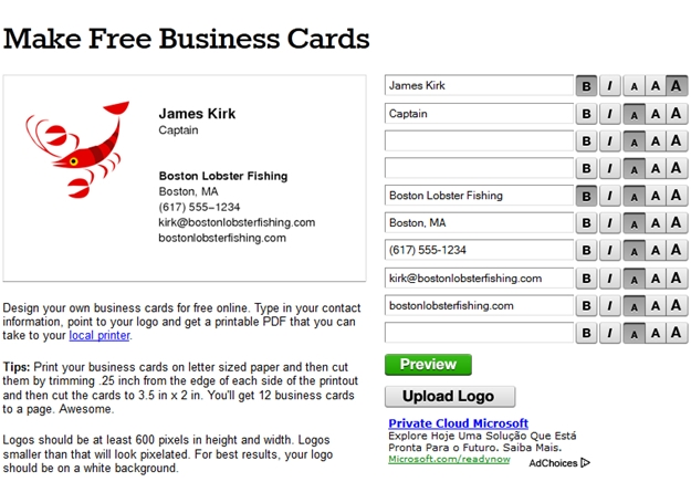 Make free business cards download make free business cards reheart Images