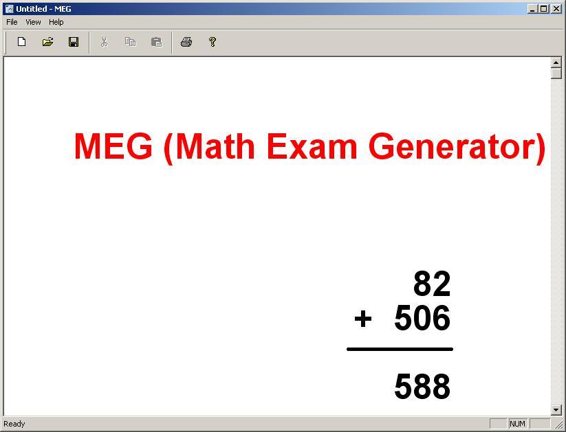 MEG - Imagem 1 do software