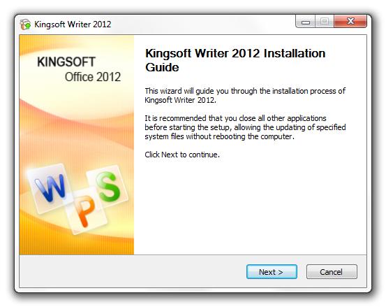 Kingsoft Writer 2015 Free Download