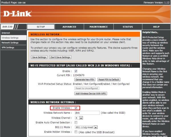 Como configurar um roteador D-Link