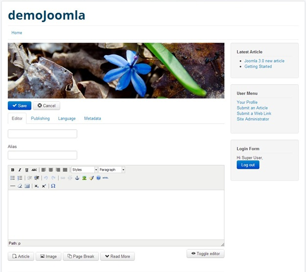 Joomla! - Imagem 1 do software