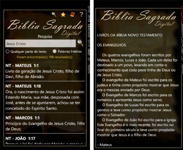Bíblia Sagrada - Imagem 1 do software