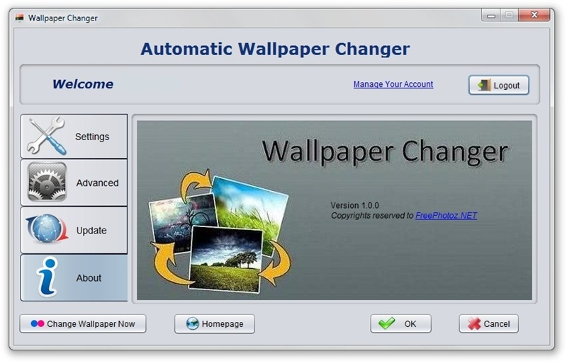 automatic wallpaper changer download baixaki