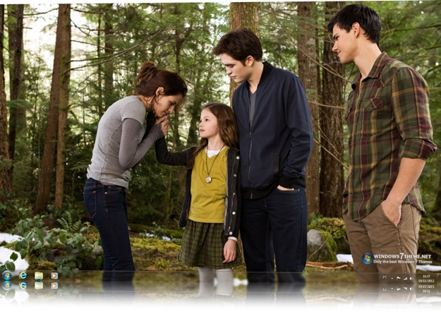 Twilight Saga Breaking Dawn Part 2 Windows 7 Theme