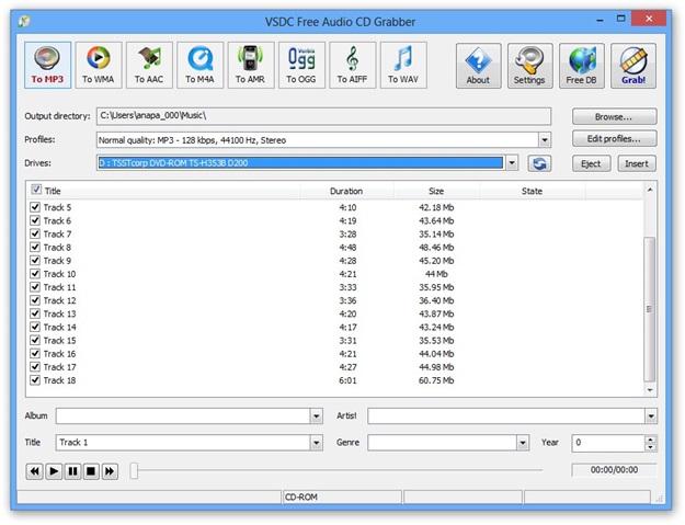 formato para marcar cd