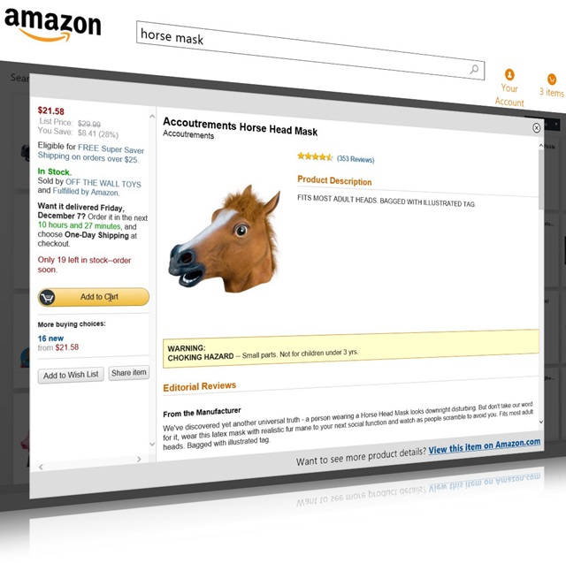 Procure e compre os produtos desejados na Amazon