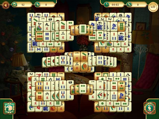 christmas mahjong online