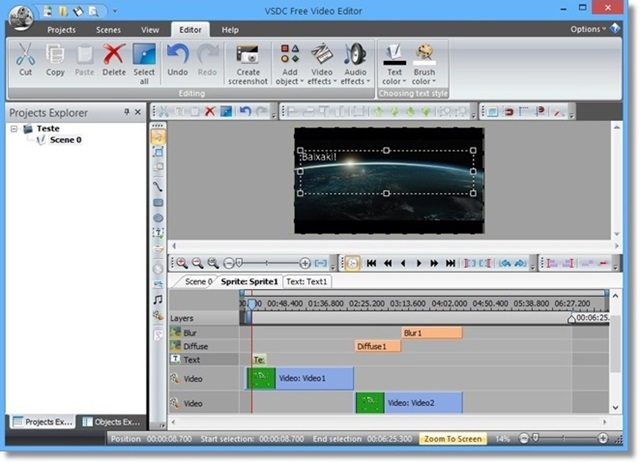 free  video editing software for windows 8