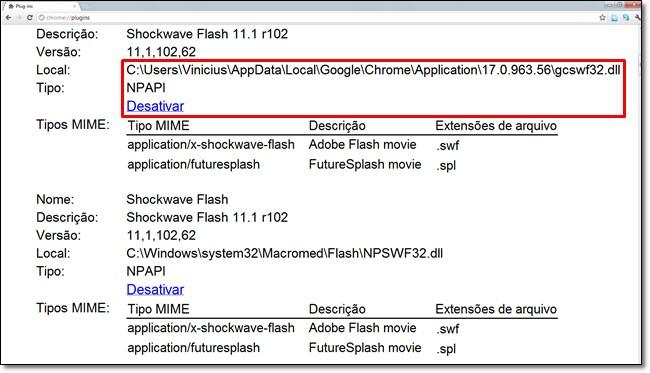 Como corrigir aquele erro chato do Shockwave Flash no Chrome 1764092972783251