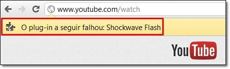 Como corrigir aquele erro chato do Shockwave Flash no Chrome 1983327112257