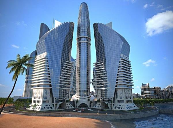 el antiguo edificio ms alto del mundo ya no es tan alto como el kingdom tower lanzado en agosto de con metros de altura slo ha sido superada