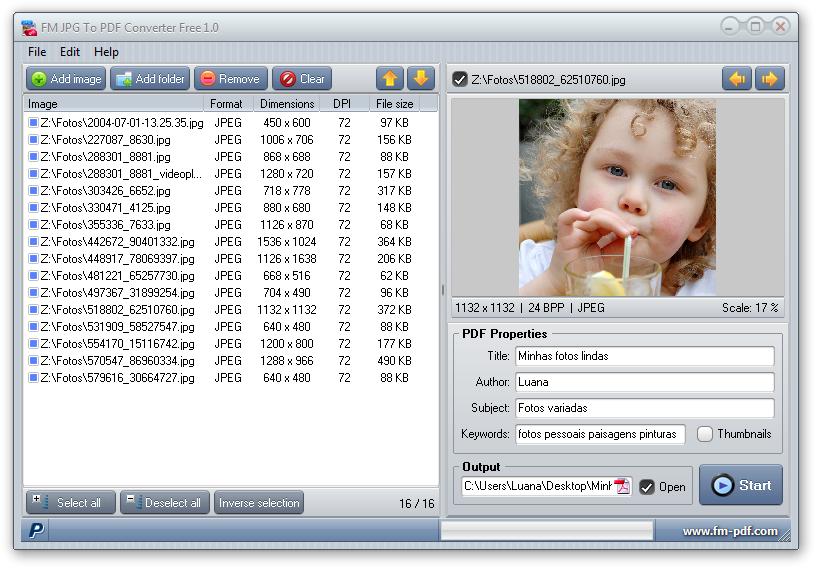 Jpg to pdf converter free download jpg to pdf converter free imagem 1 do software stopboris Images
