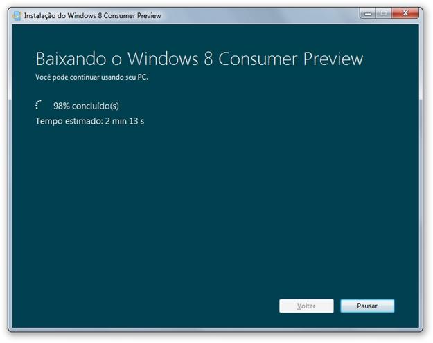 Instalando o Windows 8 [Vídeo] 8974217831161759