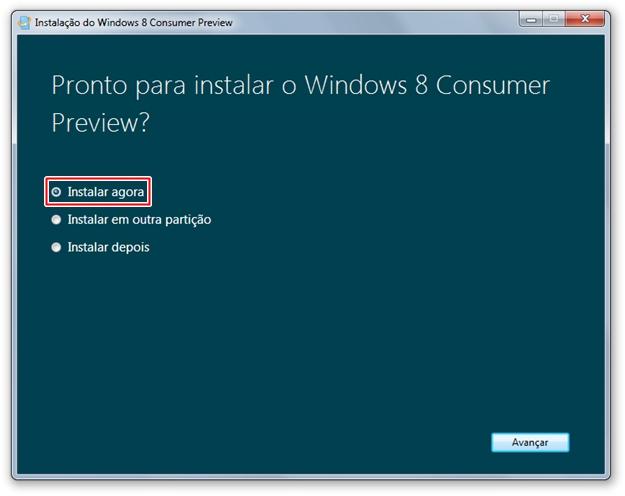 Instalando o Windows 8 [Vídeo] 897421783116196