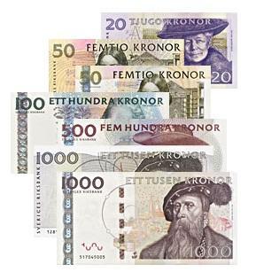 Começou... Suécia está abolindo as cédulas de dinheiro