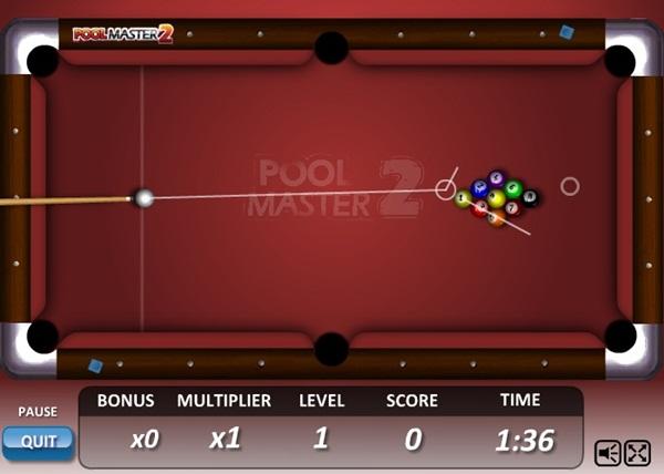 O jogo oferece um cálculo de mira e ângulo.